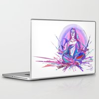 zen Laptop & iPad Skins featuring Zen by garciarts