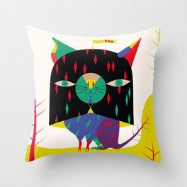 GATTO DA VITERBO [+1465 ca.] Throw Pillow