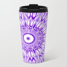 Purple Kaleidoscope  Travel Mug