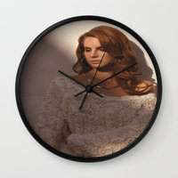 video games Wall Clocks featuring Video Games by Michelle Rosario