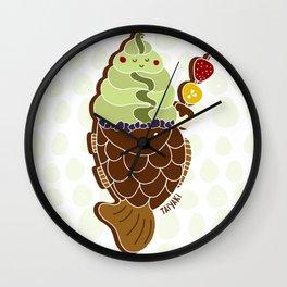 Taiyaki Ice Cream Wall Clock