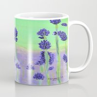 lavender Mugs featuring Lavender by maggs326
