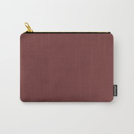 Garnet - solid color Carry-All Pouch