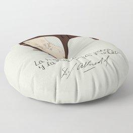 Salvador Allende Lente - TrincheraCreativ Floor Pillow