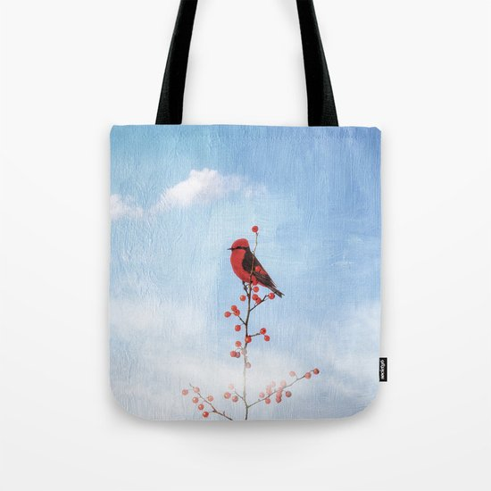 Holly Berry Heaven Tote Bag