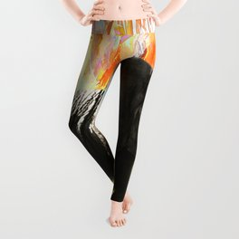 African Elephant - Happy Trails Leggings