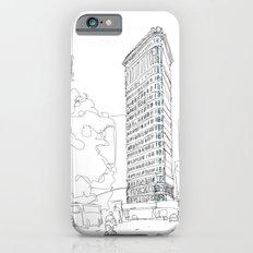 Flat Iron Building iPhone 6s Slim Case