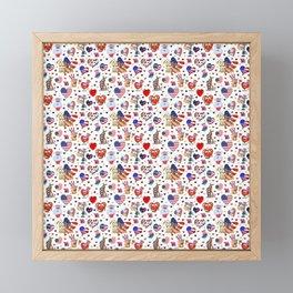 GOD BLESS AMERICA! Framed Mini Art Print