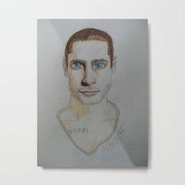 Jared Leto. Metal Print