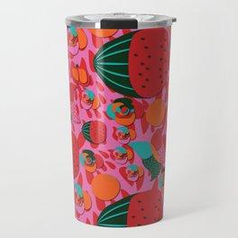 Watermelons and butterflies Travel Mug