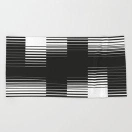 Lines #2 Beach Towel