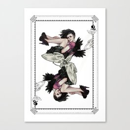 Queen of Wings Canvas Print