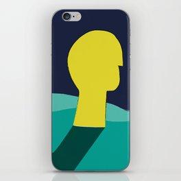 Be in deep water iPhone Skin