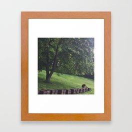 a humble beekeeper Framed Art Print