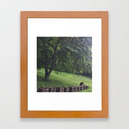 a humble beekeeper Framed Art Print