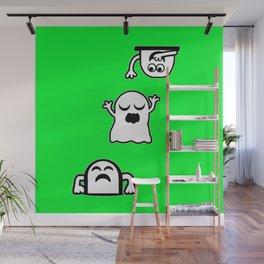Peek-A-Boos Wall Mural