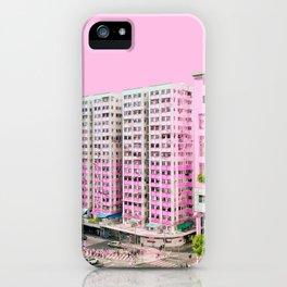 粉色大廈 /// Pink Blocks iPhone Case