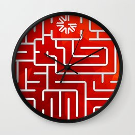 Pre-ICO Design of the Week 4 Wall Clock
