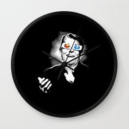 Reaganesque Wall Clock