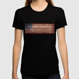 USA flag - Retro vintage Banner T-shirt