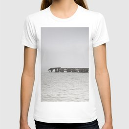 The Pier and Fog T-shirt