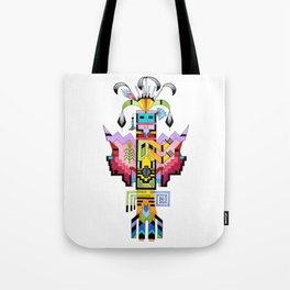 Kachina Butterfly 6 Tote Bag
