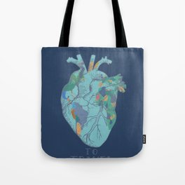love to travel-world map 2 Tote Bag
