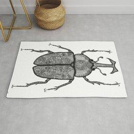 Rhino Beetle Rug