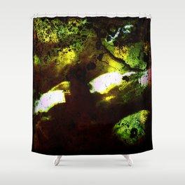 The Alien's Lair Shower Curtain