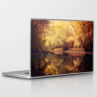 wisconsin Laptop & iPad Skins featuring Wisconsin River by KunstFabrik_StaticMovement Manu Jobst
