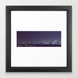 Milwaukee's Glow Framed Art Print