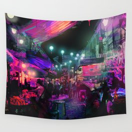 Tunes of the Night Wall Tapestry