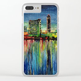 San Diego (3 of 3) Clear iPhone Case