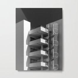 concrete - angles and spiral Metal Print