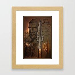 The Hunters Spear Framed Art Print