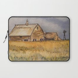 Barns and Windmill Laptop Sleeve