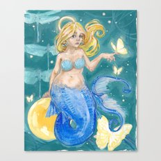 Glowmaid Canvas Print