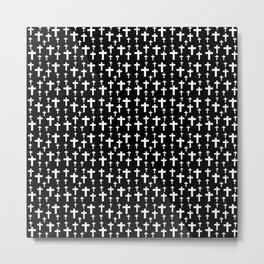 Christian Cross 33 Metal Print