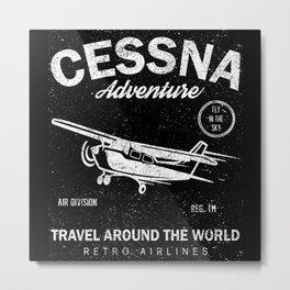 Air Travel Metal Print