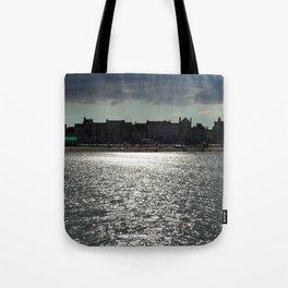 Sea Silhouette Tote Bag
