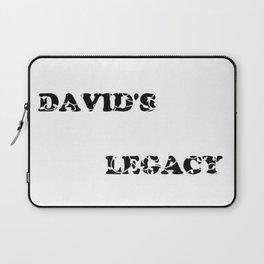 David's Legacy Scattered Leaves Laptop Sleeve