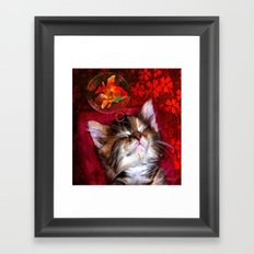Dream sweet dream Framed Art Print