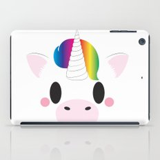 Unicorn Block iPad Case