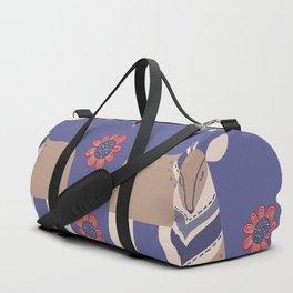 Scandinavian Winter Pattern #society6 #buyart Duffle Bag