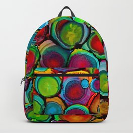 Conscious Overlap (Alcohol Inks Series 03) Backpack