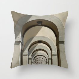 Florence archways Throw Pillow