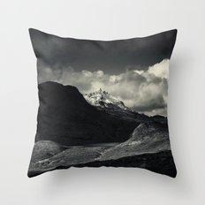 Sgùrr nan Gillean and Loch na Creitheach from Camasunary, Isle of Skye Throw Pillow