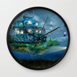 A journey with the wind Wall Clock
