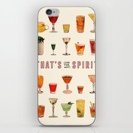 That's the Spirit iPhone Skin