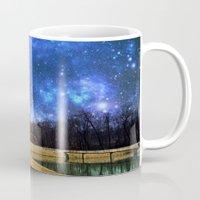 battlestar galactica Mugs featuring Reservoir Galactica  by DeLayne